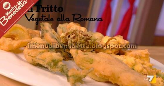 Gran fritto alla romana la ricetta di benedetta parodi for Mozzarella in carrozza parodi