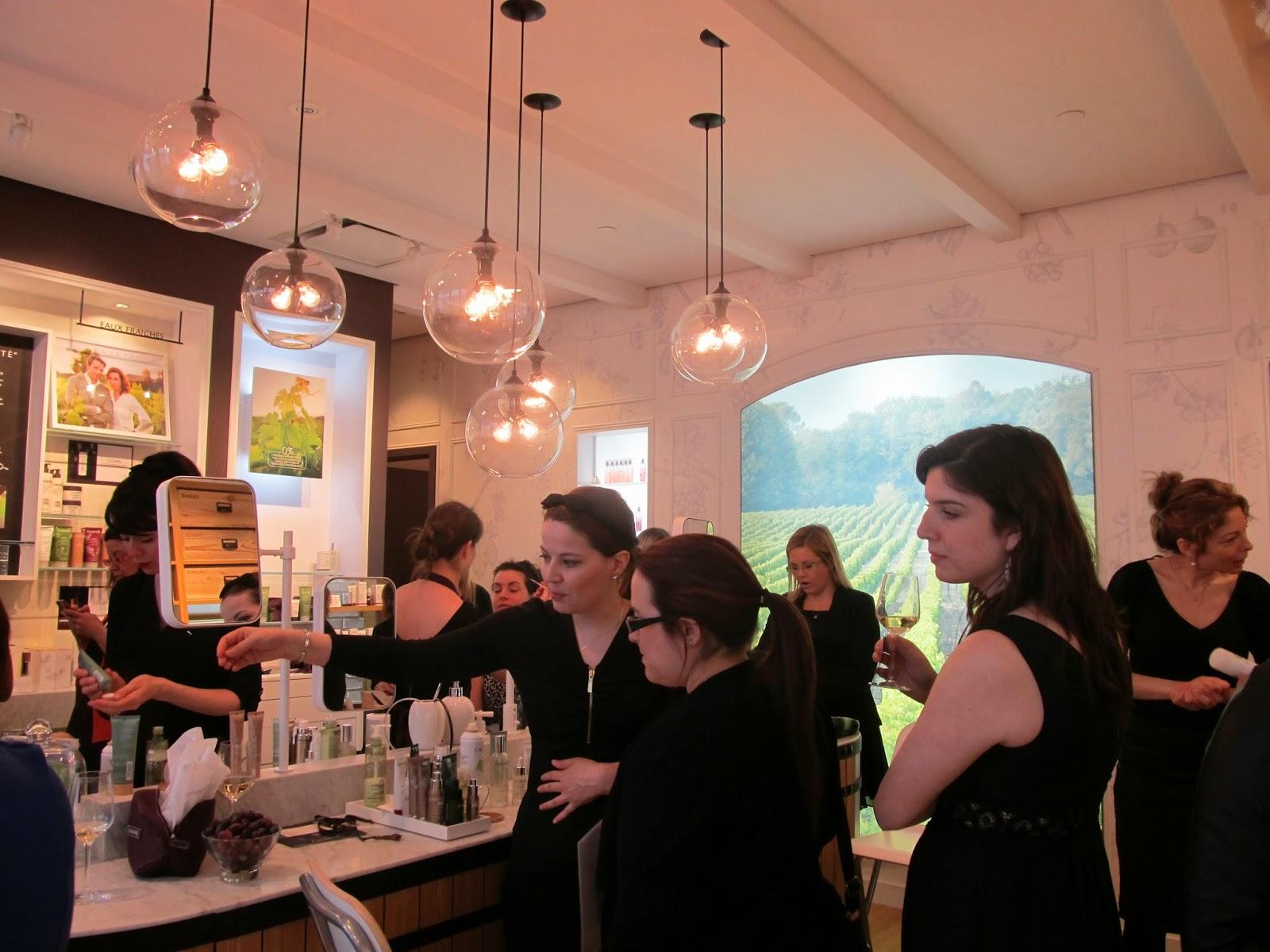 Un événement rassembleur autour de la vinothérapie par Mères et Cie au spa Caudalie #CaudalieCanada #QuartierDix30