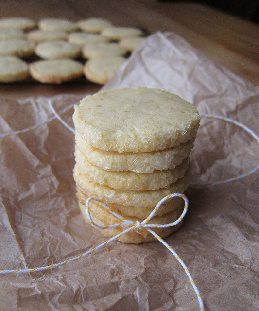 Arctic Garden Studio: Meyer Lemon Butter Cookies