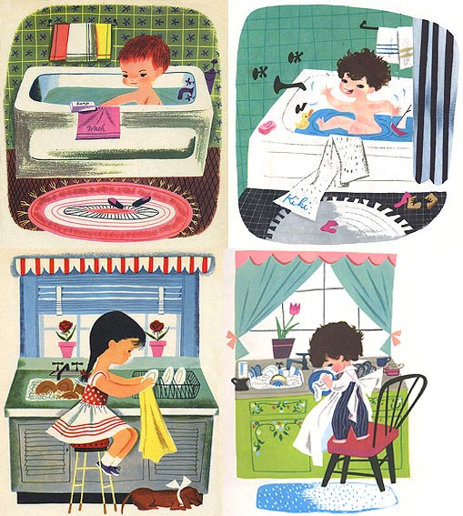 The Wonderful World Of Nik E April 2009: The Art Of Mary Blair...It's A Small World...