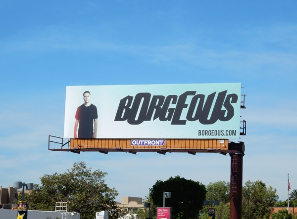 Borgeous DJ billboard