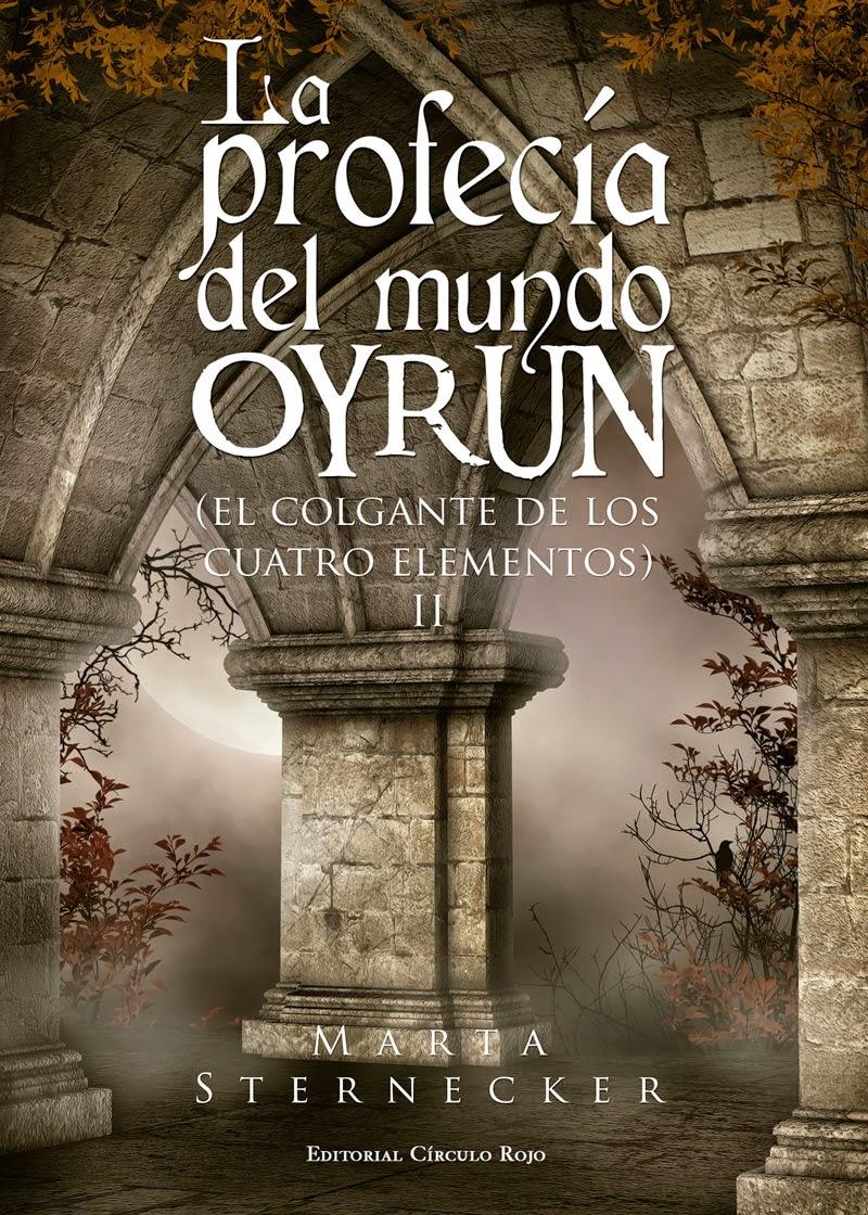 portada novela la profecia de oyrum