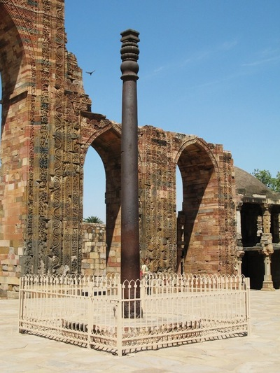 [Imagem: Iron_pillar_of_Delhi.jpg]