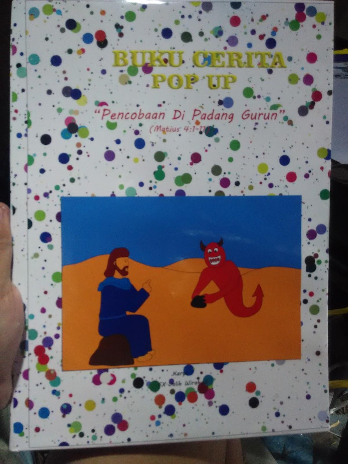 Buku POP Up Pencobaan Di padang Gurun (Rp.70.000)
