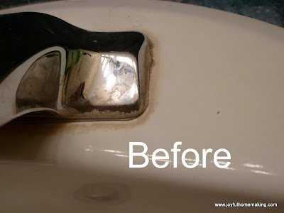 http://joyfulhomemaking.com/2012/03/get-rid-of-mineral-deposits-around-faucets.html