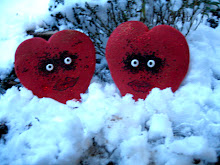 Hearts Enjoying the Snow