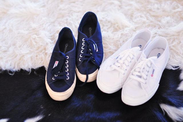 navy superga sneakers, white superga shoes