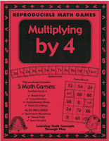 http://www.teacherspayteachers.com/Product/Multiplying-by-4-Games-and-Lesson-Plan-25976