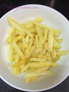 hướng dẫn làm khoai tây chiên