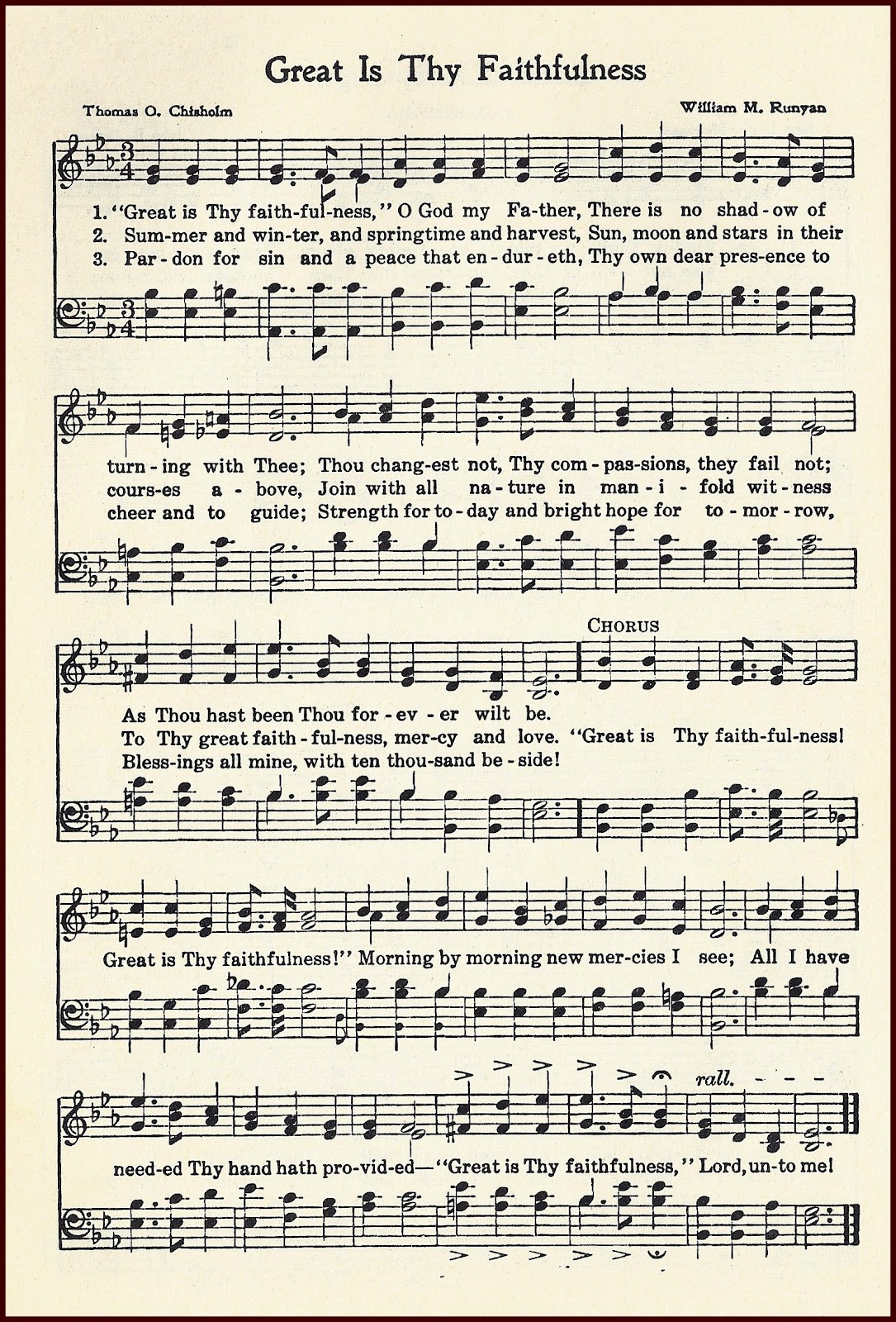 Resource image inside printable hymns