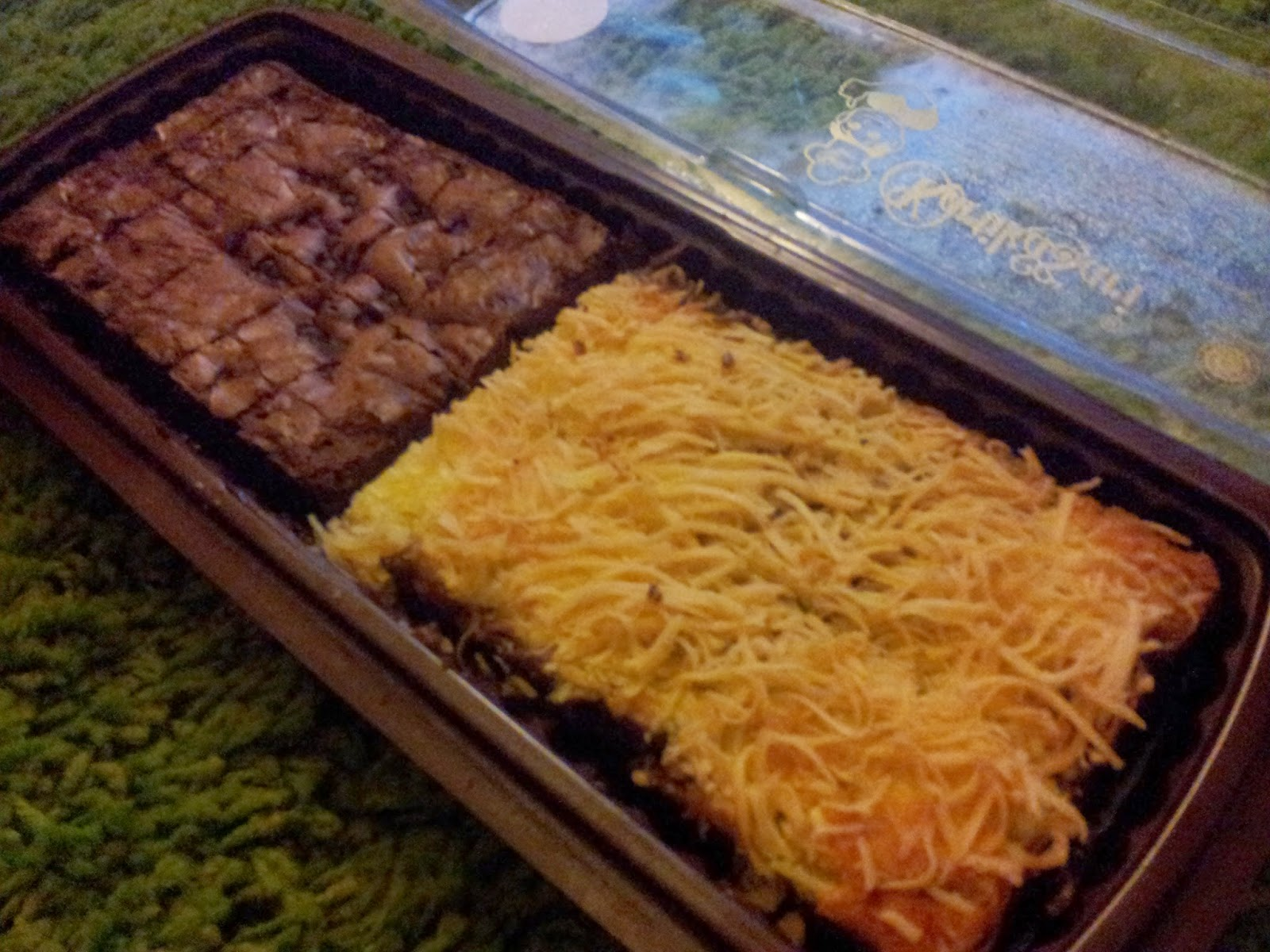 Snacking back in Malaysia: Chocolate Chip Brownies (left), Cheese ...