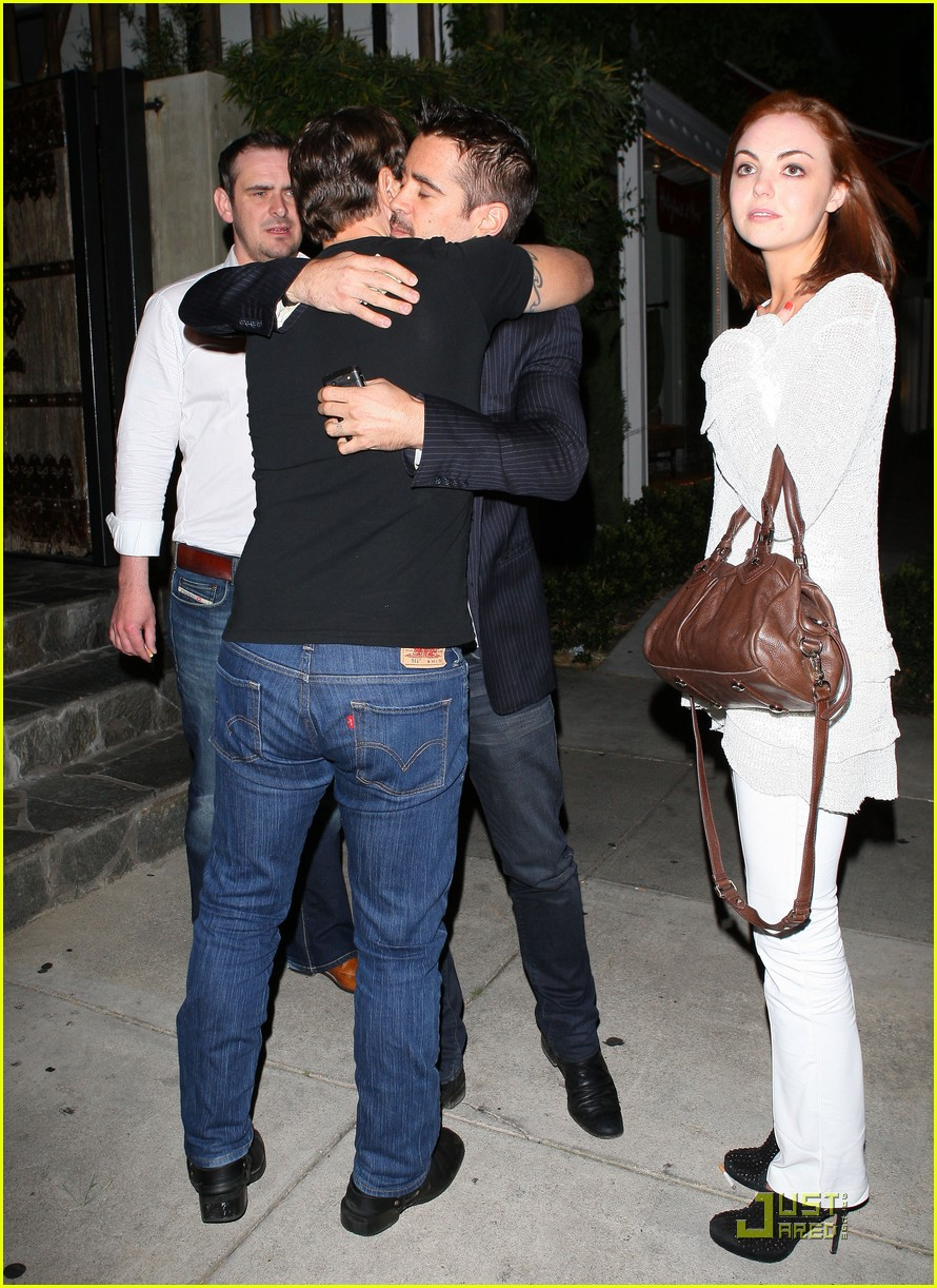 Colin Farrell And Riha...