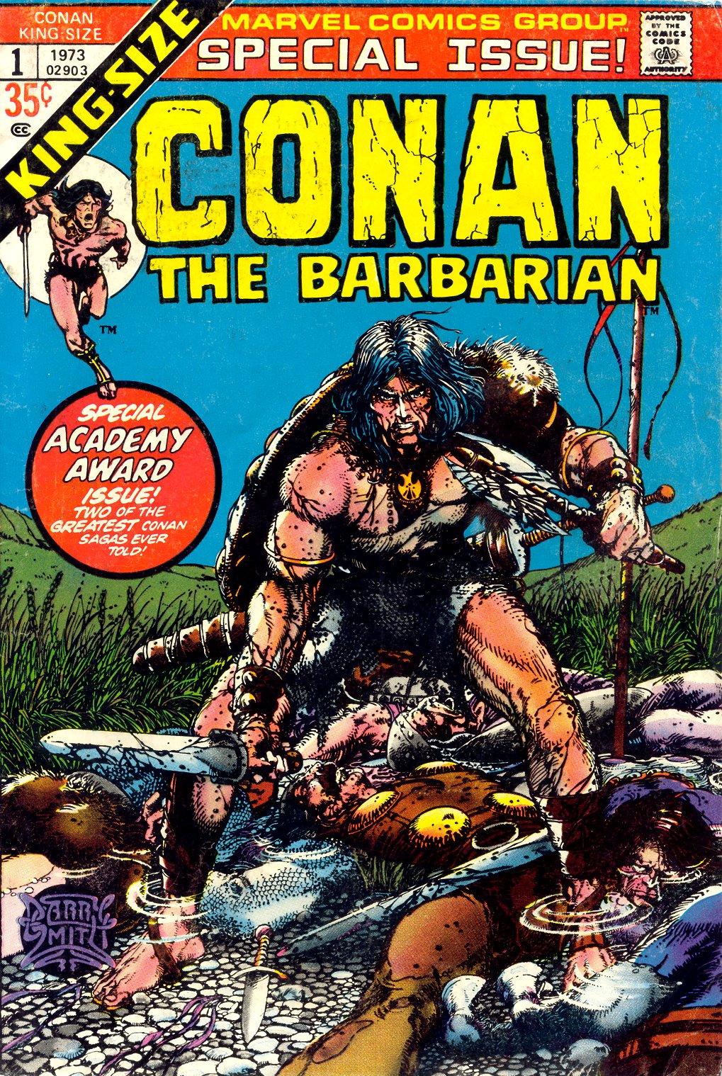 Conan the Barbarian (1970) Annual_1 Page 1
