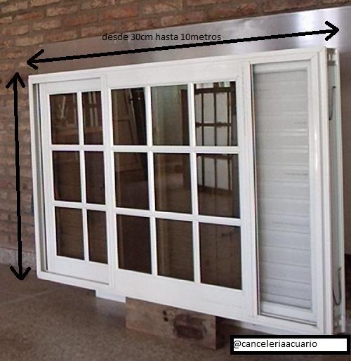 Aluminio acuario ventanas de aluminio economicas desde for Puertas ventanas de aluminio medidas