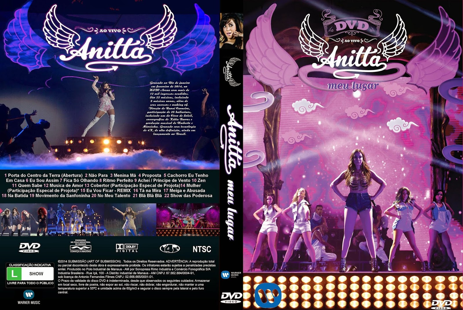 Baixar Anitta Meu Lugar DVD-R Anitta   Meu Lugar Ao Vivo