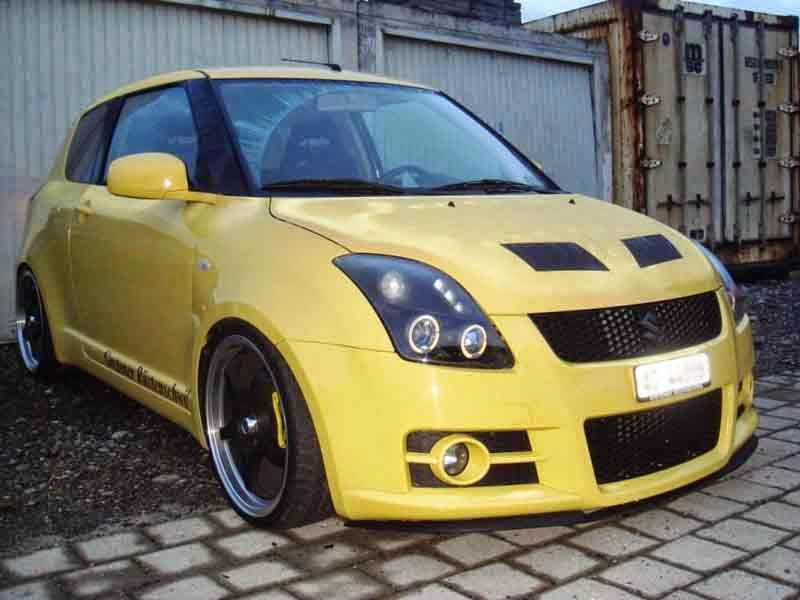 suzuki swift simple modifikasi