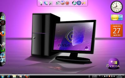 Tema NVidiaBlack Para Windows 7 Capa
