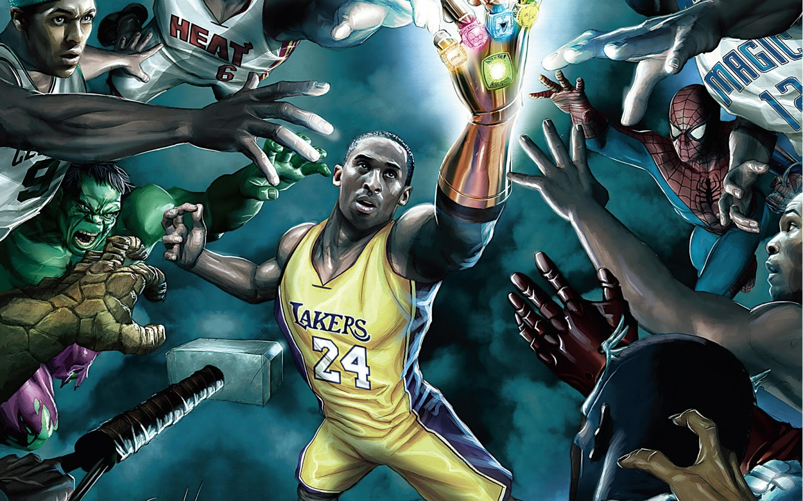 Kobe Bryant Y LeBron James Wallpapers NBA Fondos De Pantalla