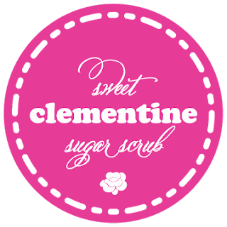 Clementine Sugar Scrub and Label Printable.  This stuff smells amazing! entirelyeventfulday.com
