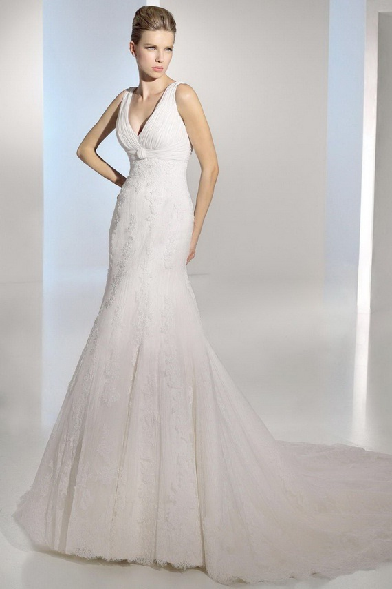 Elegance Of   Wedding Dresses : Elegant mermaid wedding dresses
