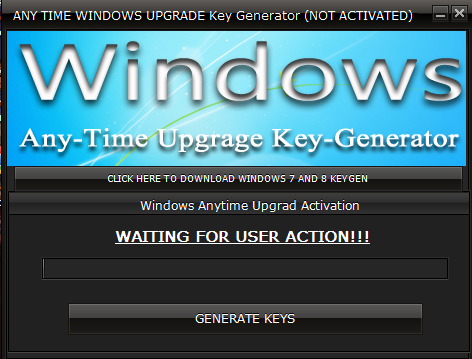 windows 7 ultimate anytime upgrade key generator
