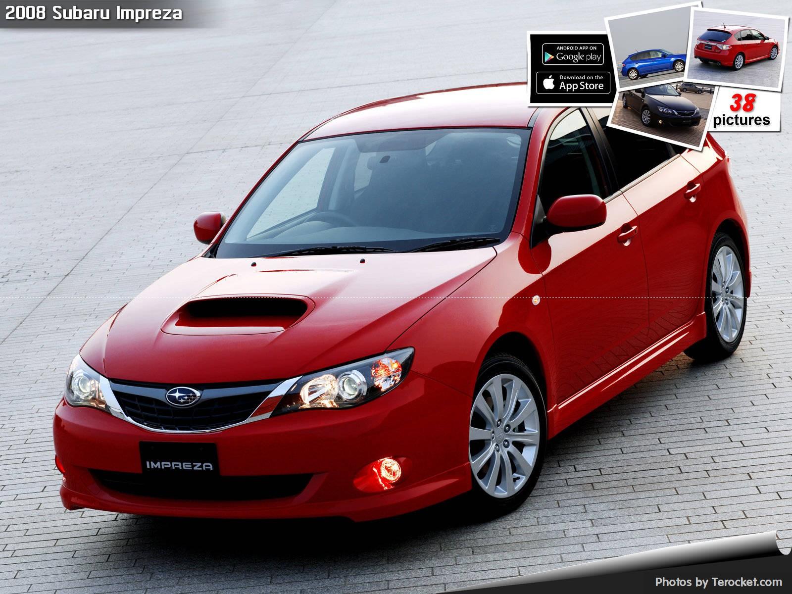 Hình ảnh xe ô tô Subaru Impreza Japanese Version 2008 & nội ngoại thất