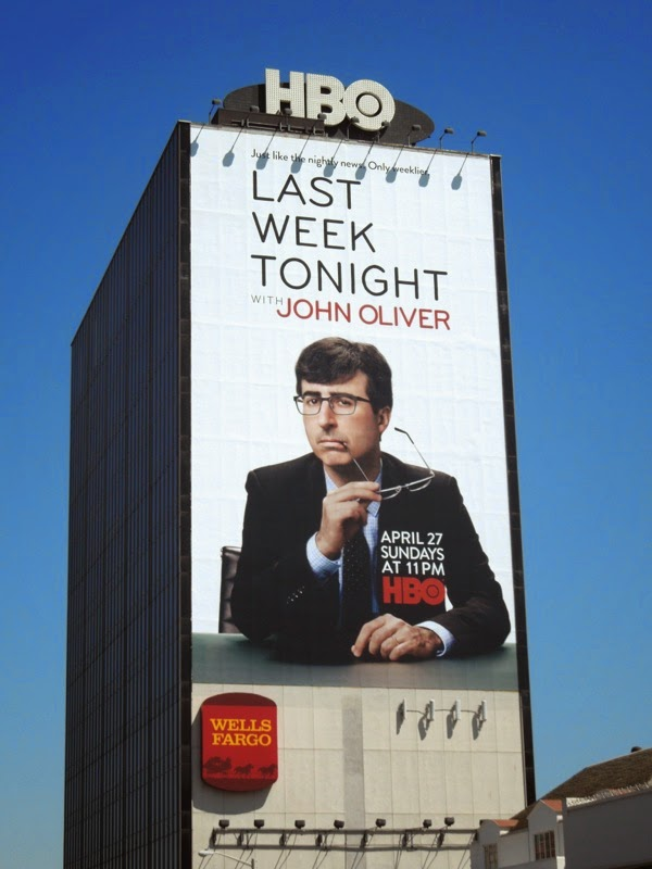 Giant Last Week Tonight John Oliver billboard
