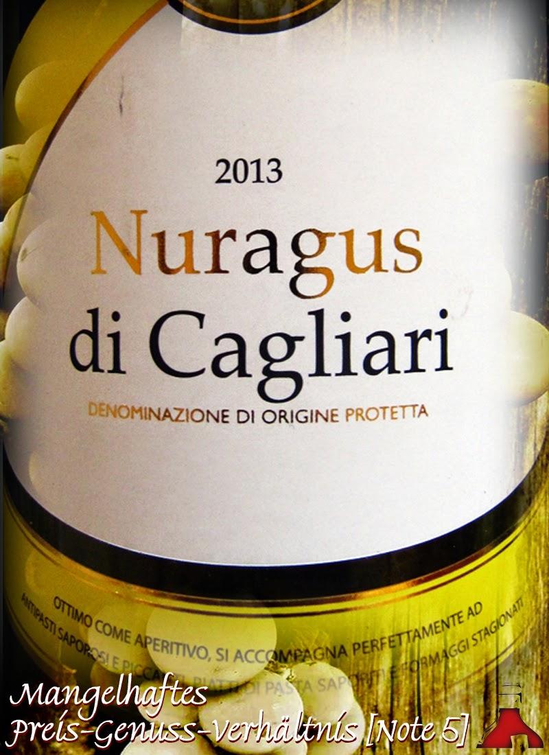 Monte Janu Nuragus di Cagliari Sardinien 2013 - Guter Wein aus dem ...