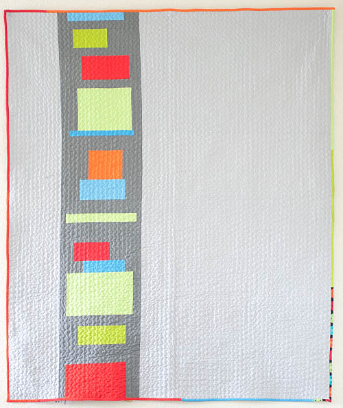 Quilt Patterns Squares And Rectangles : Little Bluebell: Finished Quilt: Squares and Rectangles