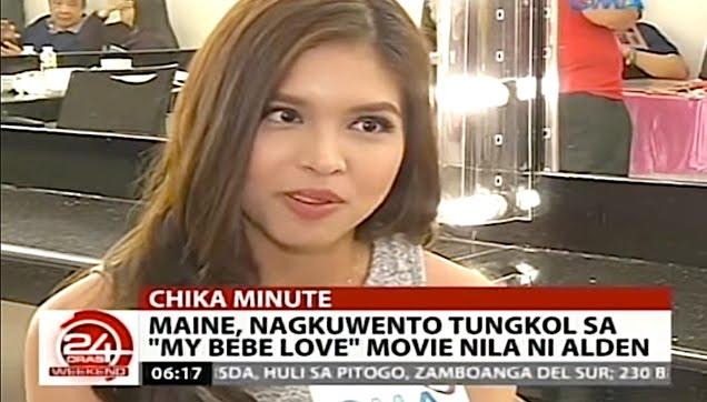 "Maine Mendoza's interview after ""Sunday Pinasaya"" show"