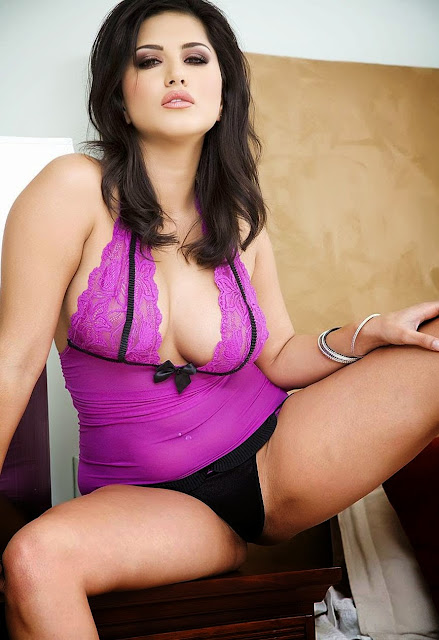 Hot and Sexy Sunny Leone Spicy Lingerie Photoshoot