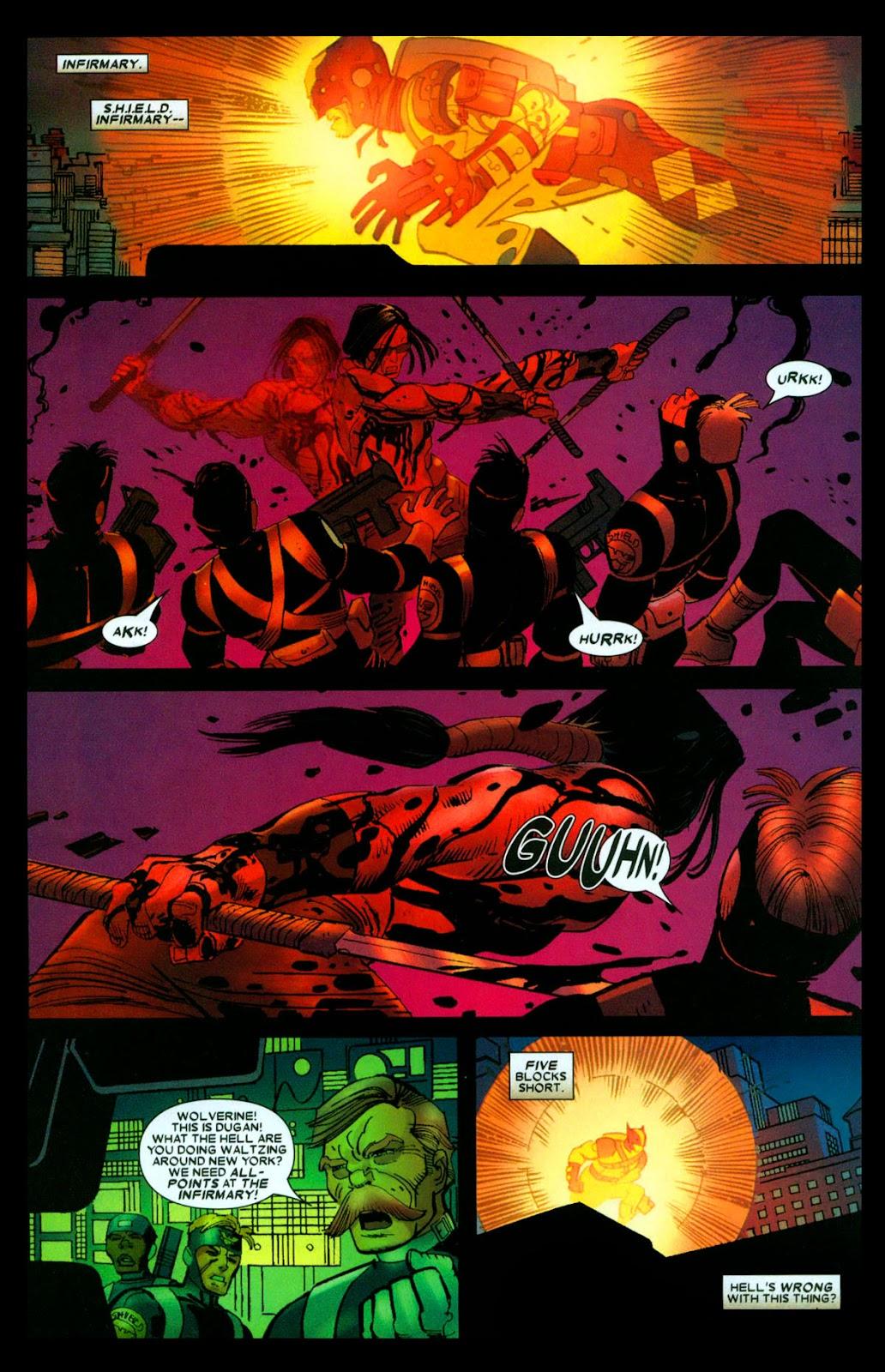Read online Wolverine (2003) comic -  Issue #31 - 6
