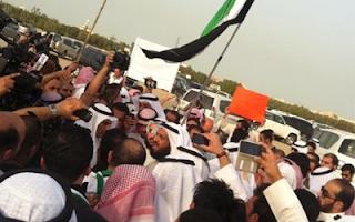 7 مقاطع لتغطية الاعتصام أمام السفارة السورية 26-5-2012