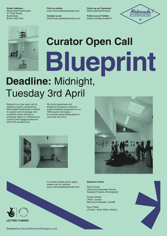 Motorcadeflashparade blueprint open call blueprint a new open call for aspiring curators is launching today we hope it will support and encourage new curatorial voices wishing to exchange ideas malvernweather Choice Image
