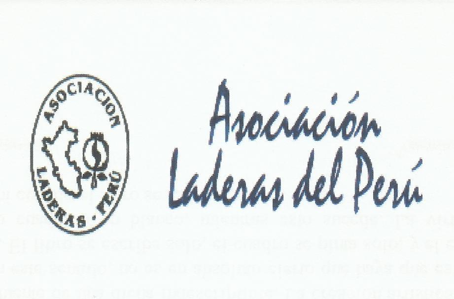 ASOCIACIÓN LADERAS-PERÚ