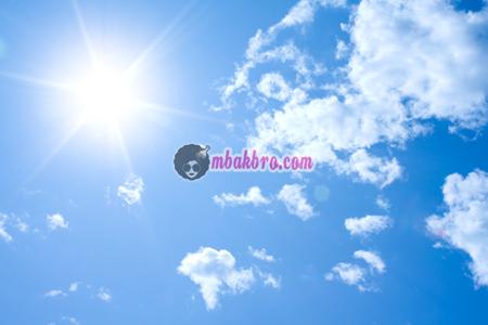 panas matahari