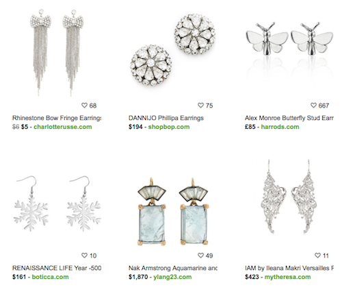 Silver Earrings Collection