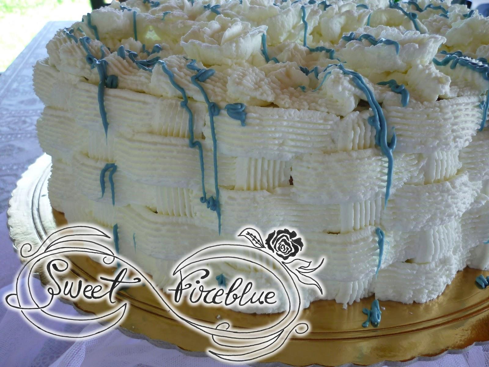 Sweet fireblue torta pannosa alle fragole con la for Decorazione a canestro