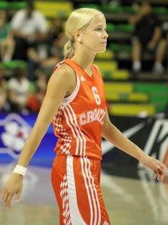 Basketball Player Antonija Misura