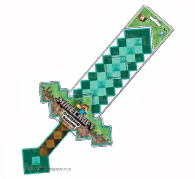 minecraft sword sword diamond minecraft papercraft - Minecraft Papercraft Diamond