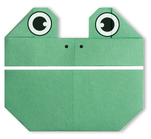 Origami Frog Face Cat Paper Folding Easy Tiger How To Make Directions