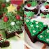8 ideias de decoração para brownies natalinos