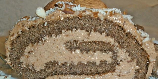 Čokoladni kolač sa bademima