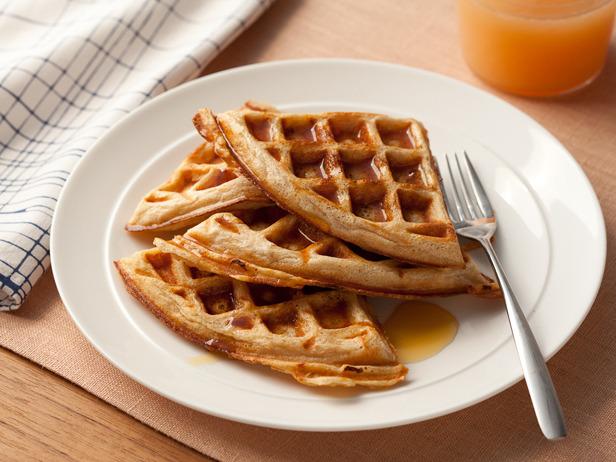 travel & living: Whole-Grain Waffles
