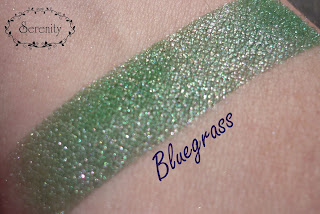 Madd Style Cosmetics MSC Bluegrass Swatch