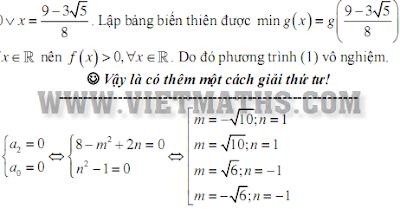 Một số phương pháp chứng minh phương trình bậc 4, 6 vô nghiệm, cach chung minh phuong trinh bac 4 vo nghiem