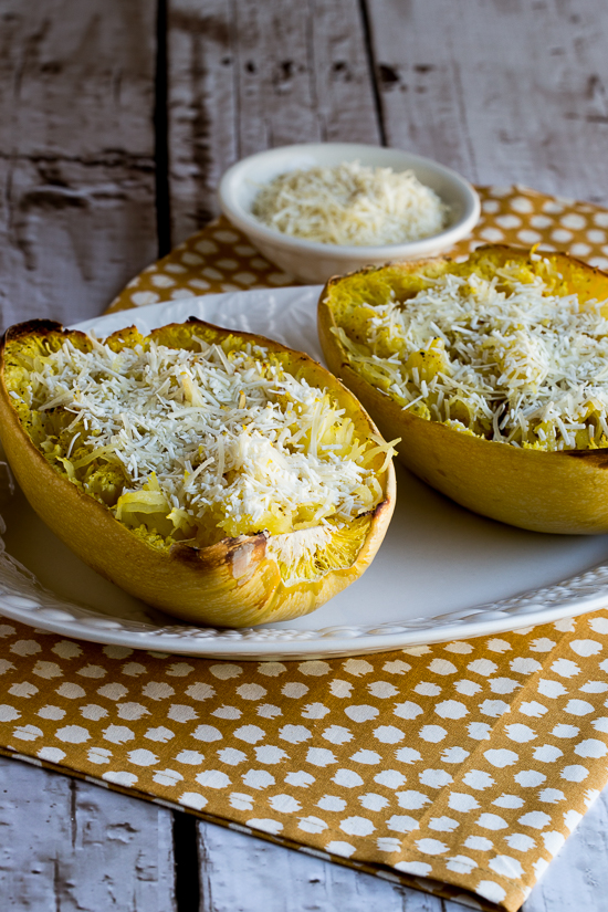 Roasted Spaghetti Squash with Mizithra Cheese and Browned Butter found ...