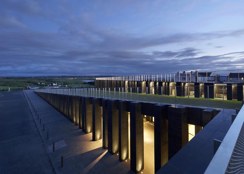 mx design studio giant s causeway visitors centre