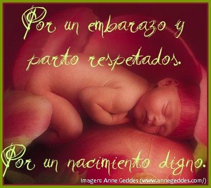 Por un parto respetado.