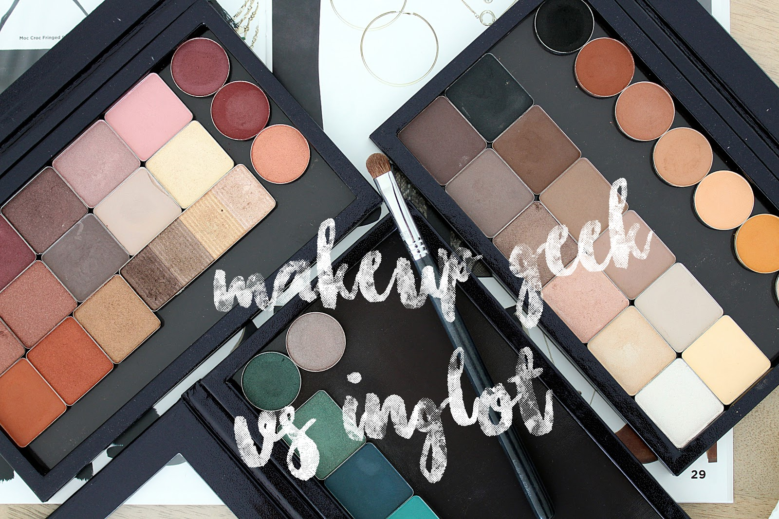 Makeup Geek Vs Inglot Eye Shadows Swatches and Review